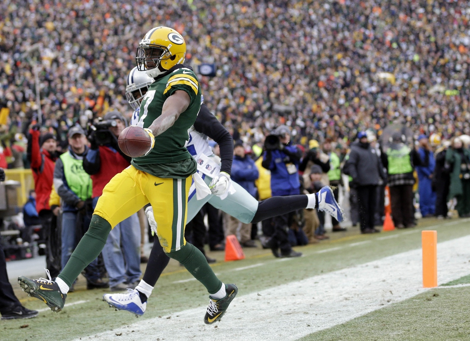 Courtesy of USA Today: Adams is the breakout start of the playoffs for Green Bay.