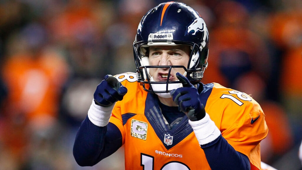 Courtesy of USA Today Sports: Peyton has one more chance to win Super Bowl No. 2.