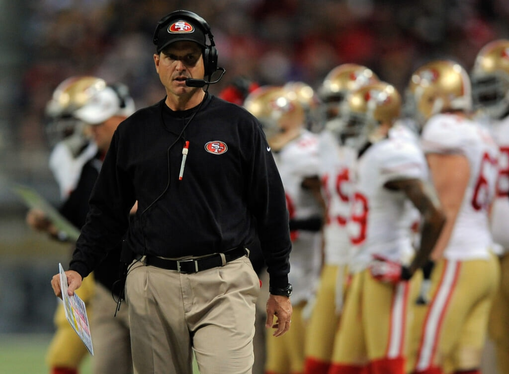 Courtesy of USA Today: Harbaugh quickly lost touch with his veterans, and thus lost his team.