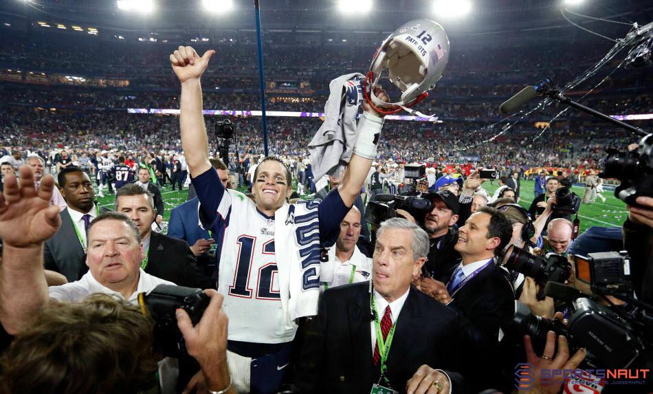 Courtesy of USA Today Sports: The NFL isn't taking away Brady's four Lombardi's.