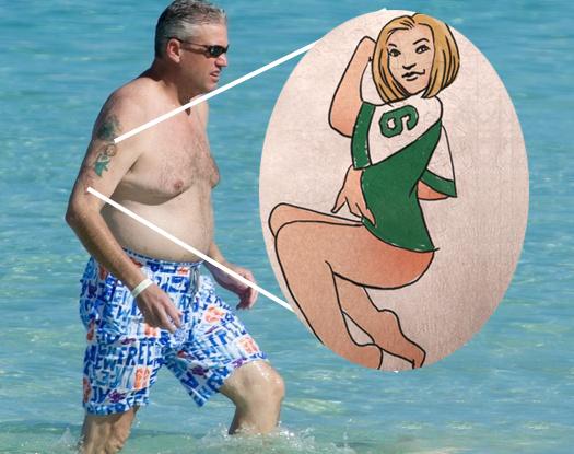 Rex Ryan's Infamous Jets Tattoo Isn't a Jets Tattoo