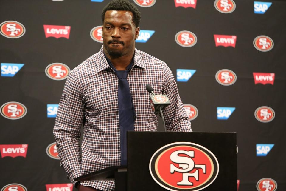 Courtesy of 49ers.com: Patrick Willis' emotional retirement stunned the NFL.