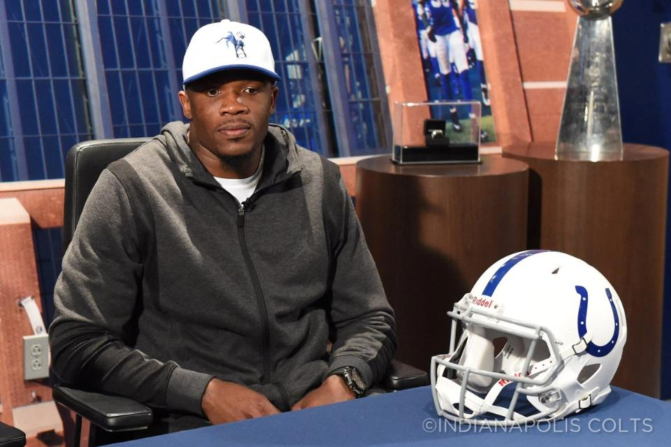 Courtesy of Colts.com: Johnson will add another starter-caliber receiver for Luck.