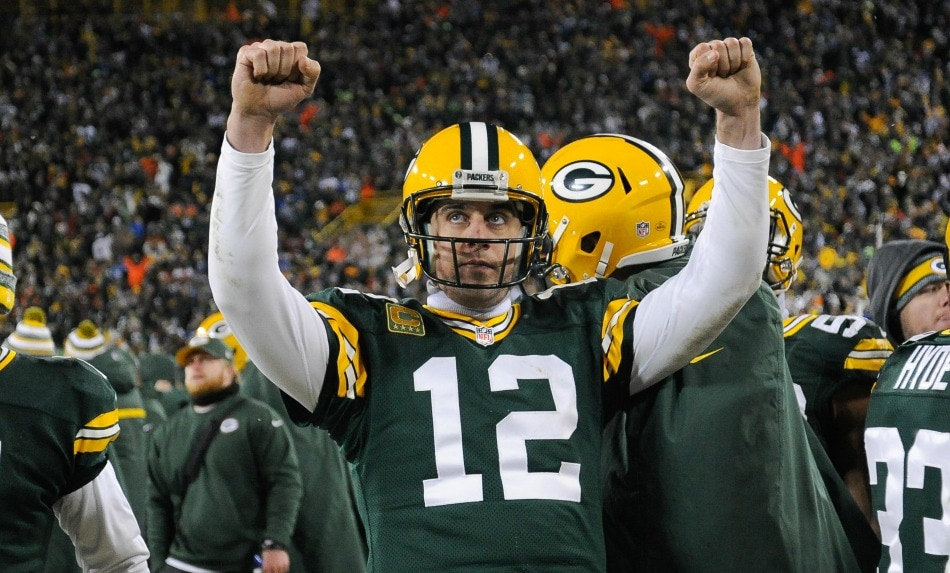 USA Today Images — Packers quarterback Aaron Rodgers