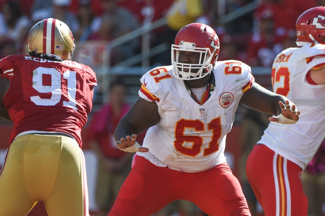 Courtesy of USA Today; Rodney Hudson is now NFL's highest-paid center.