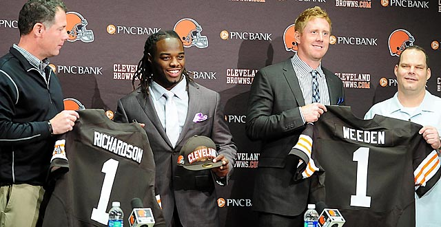 The Browns can't afford to have a repeat of the 2012 first round.