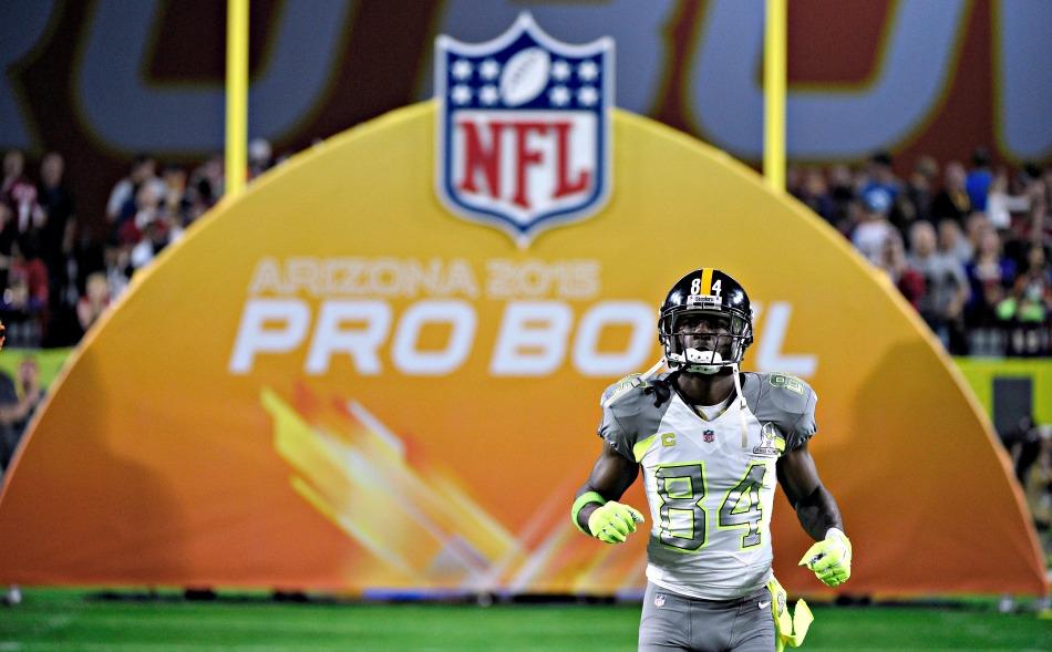 Antonio Brown Pro Bowl SN