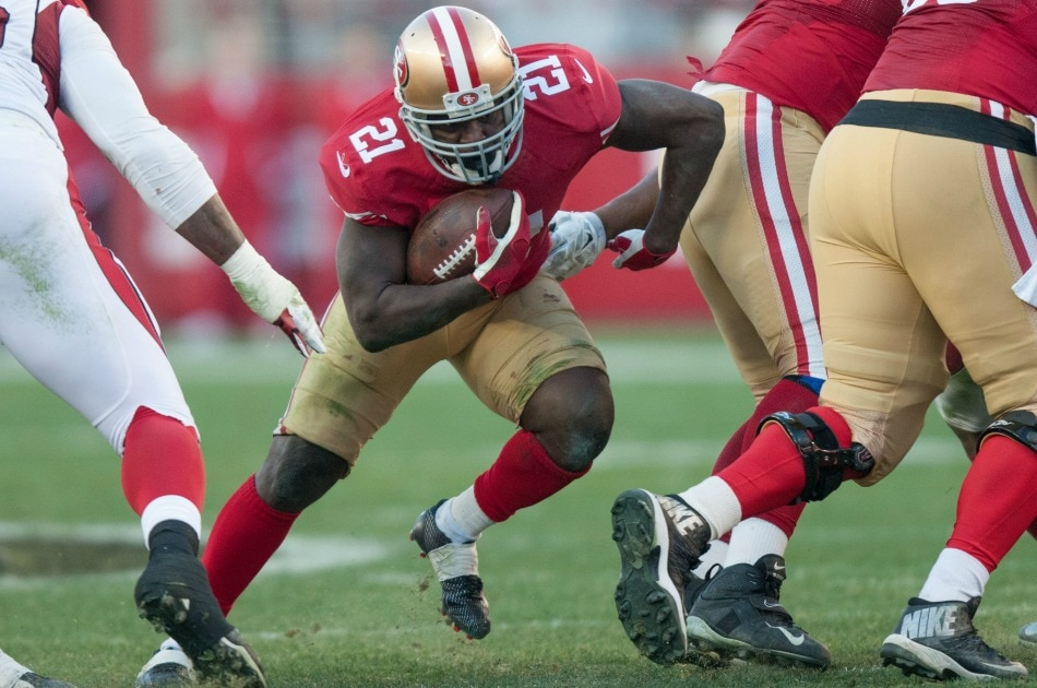 USA Today Images — Frank Gore (21)