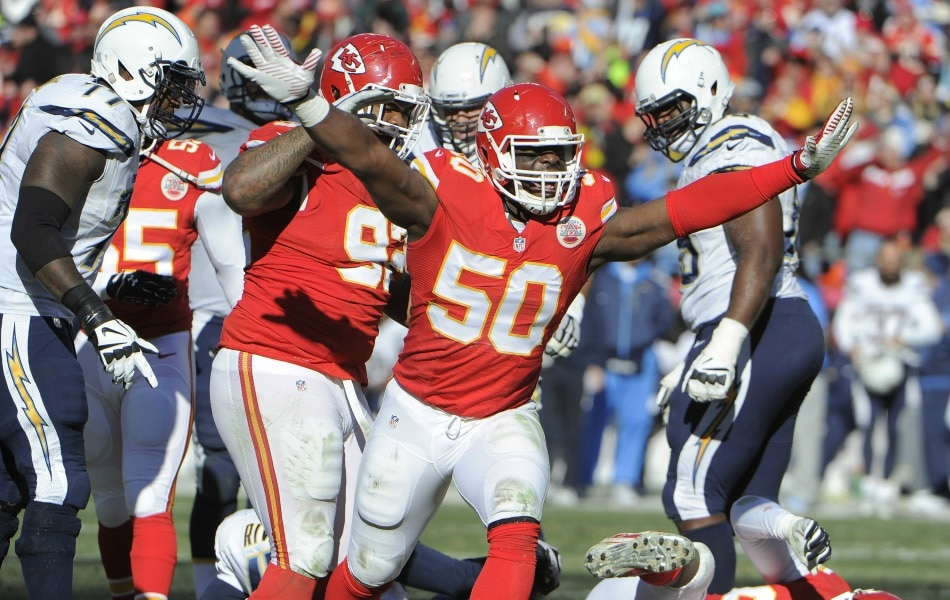 USA Today Images — Justin Houston (50)