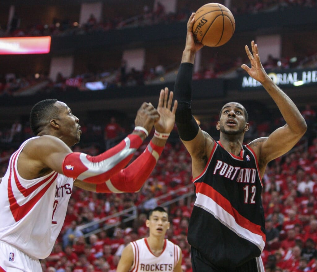 Courtesy of USA Today Sports: Where will LeMarcus Aldridge land?