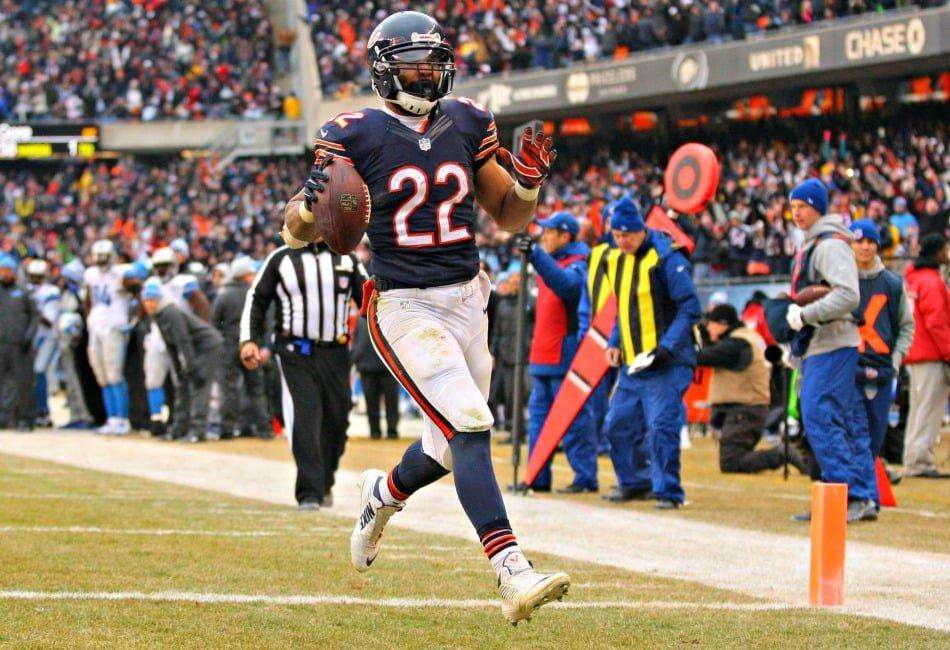 USA Today Images — Bears running back Matt Forte scores a touchdown