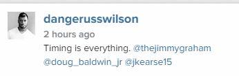 Russell wilson Capture
