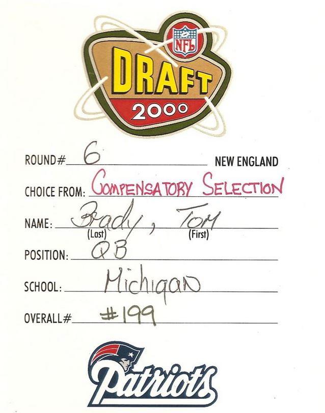 tom brady draft round