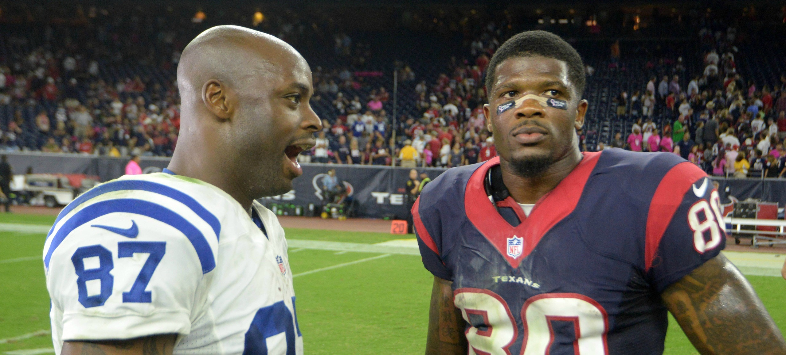 Andre Johnson Claims to Move to Indianapolis Was not About Revenge