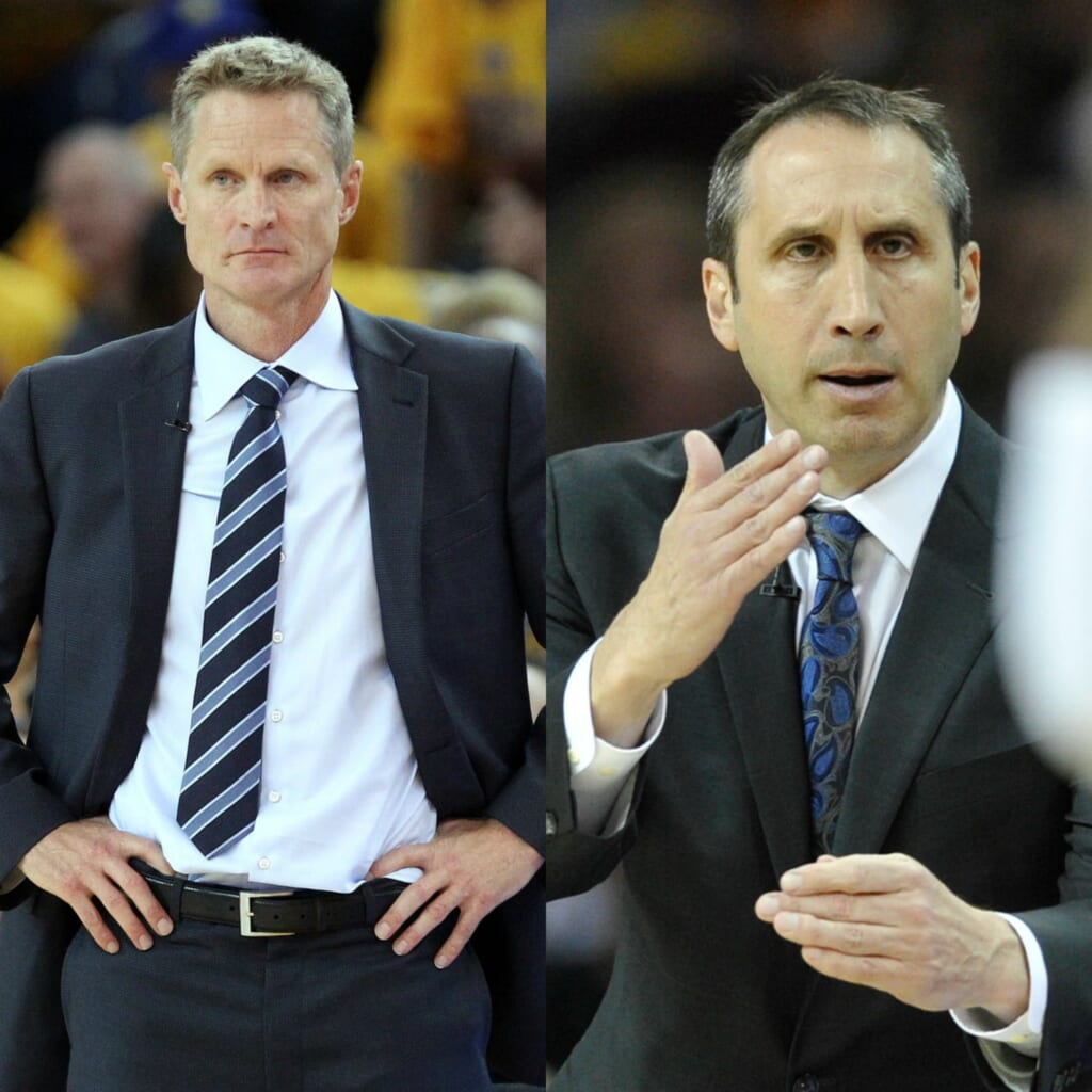 Courtesy of USA Today Sports: Two of the most successful first-year coaches in NBA history.