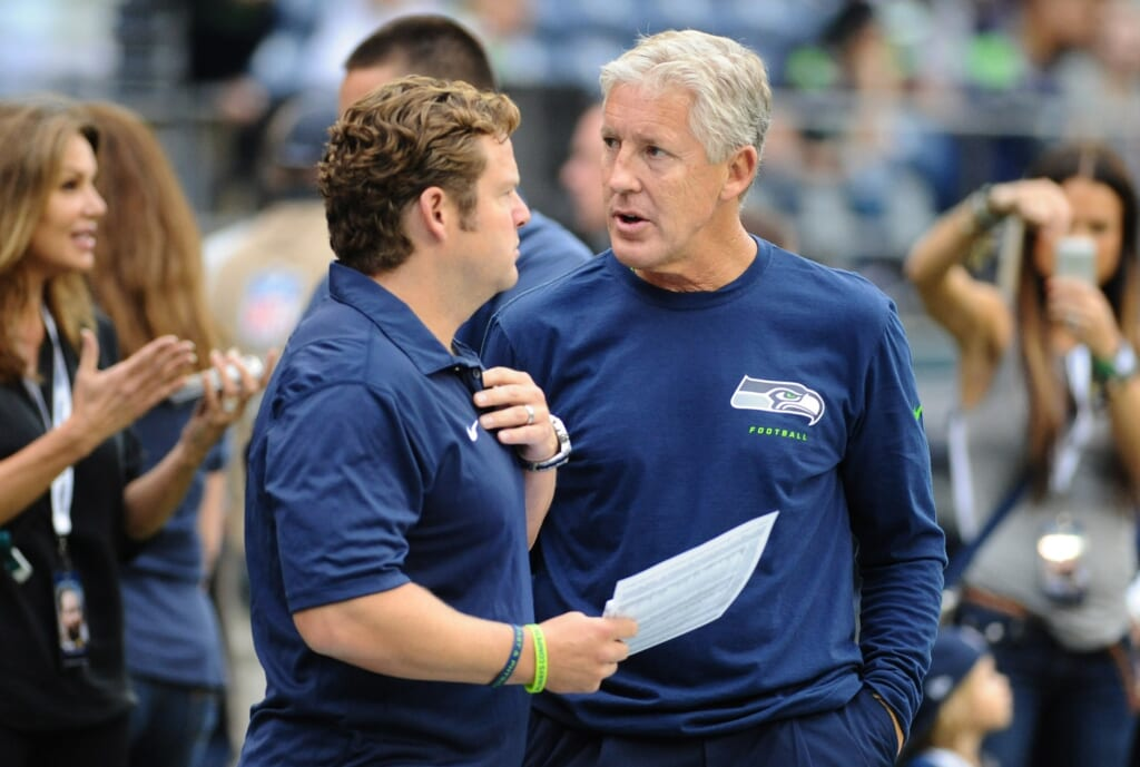 Courtesy of USA Today Sports: Don't think for a minute that John Schneider hasn't considered moving on from Wilson at some point.