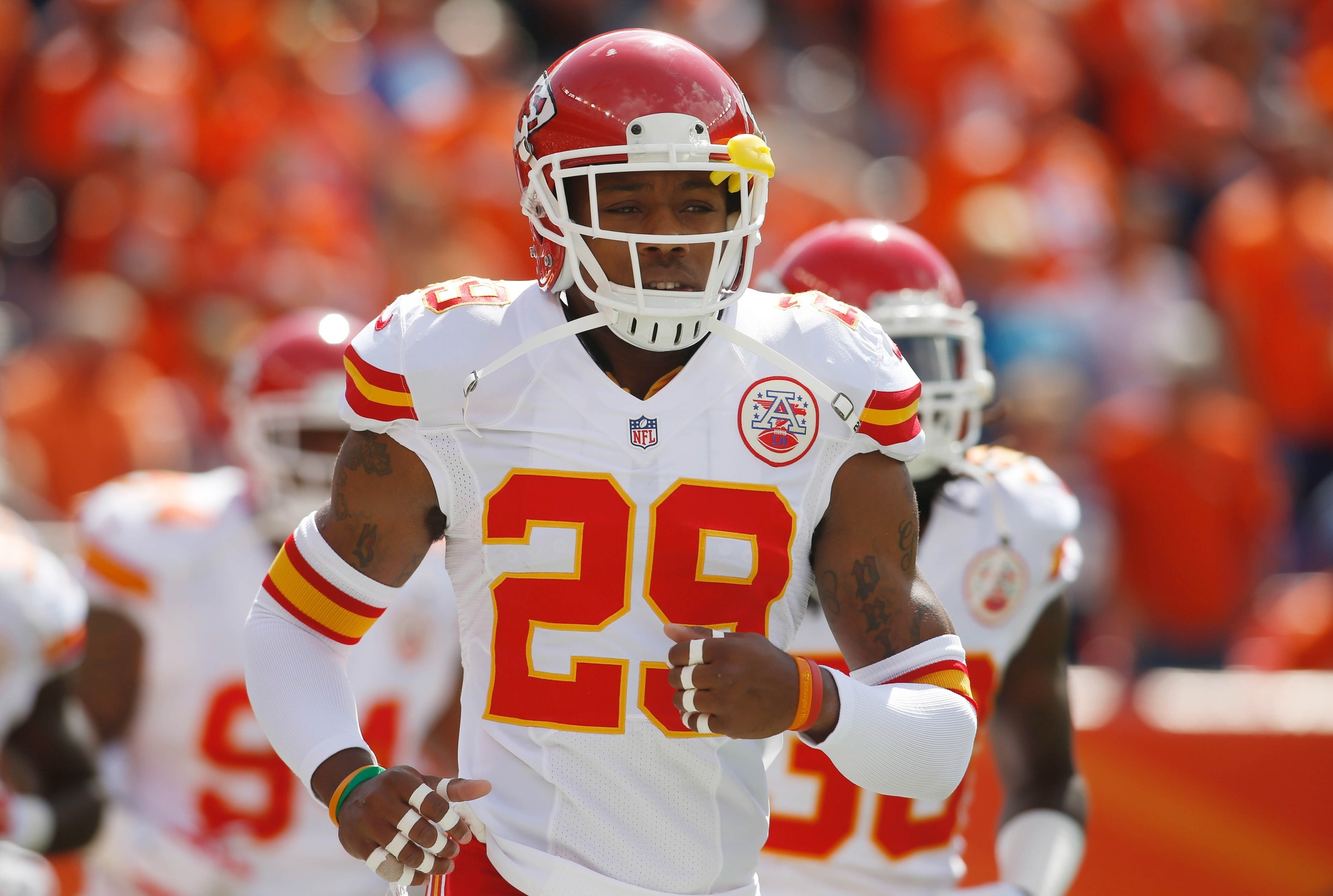 "Eric Berry ""Doing Well"" After Finishing Cancer Treatments"