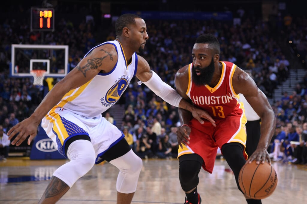 Courtesy of USA Today Sports: The Rockets have the offensive firepower to keep up with Golden State, but they need the offense to be consistent.