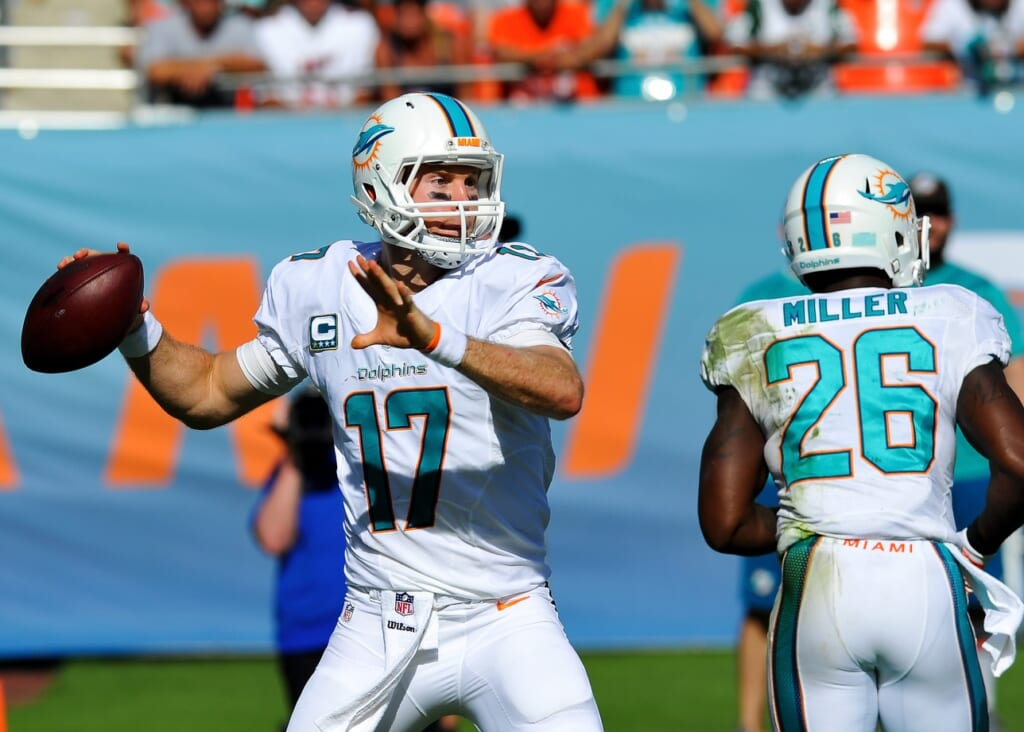 Courtesy of USA Today Sports: Look for Tannehill to continue his progression towards elite status in 2015.