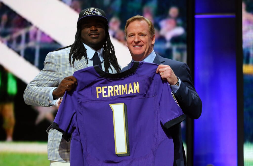 Courtesy of USA Today Sports: Breshad Perriman's skill set is what Baltimore needed on offense.
