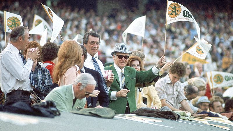 Courtesy of Getty Images: Oakland of the 1970's had a lot to cheer for.