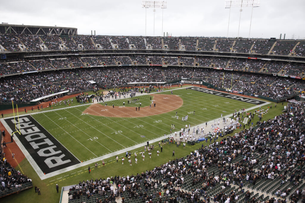 Courtesy of NFL.com: O.co is now the only two-sport stadium remaining.