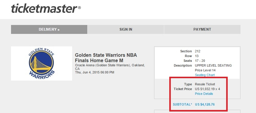 Tickets for Game 1 of the NBA Finals are Insane