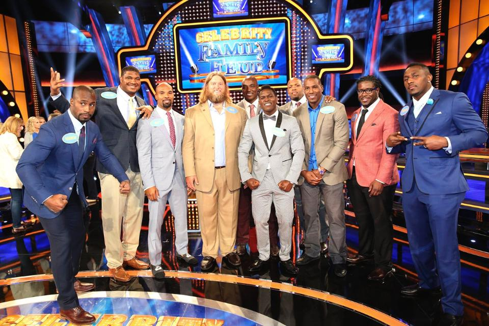 Celebrity family feud terrell suggs youtube