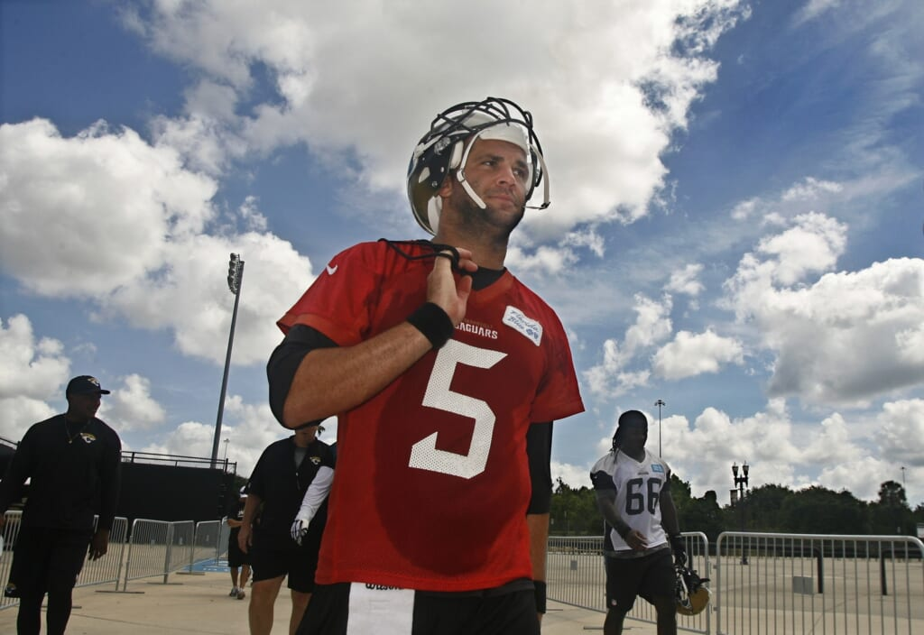 Courtesy of USA Today Sports: Blake Bortles needs to get help in order to progress under center.