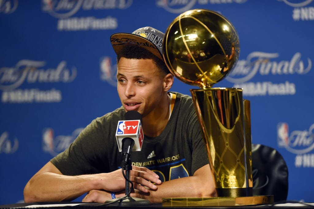Courtesy of USA Today Sports: Now a NBA champion, Stephen Curry's rise to the top is awe-inspiring.