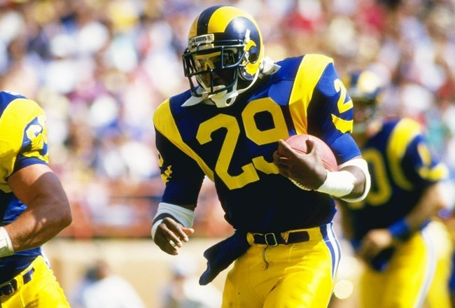 Courtesy of Pro Football Talk: Dickerson was known for his contract demands.