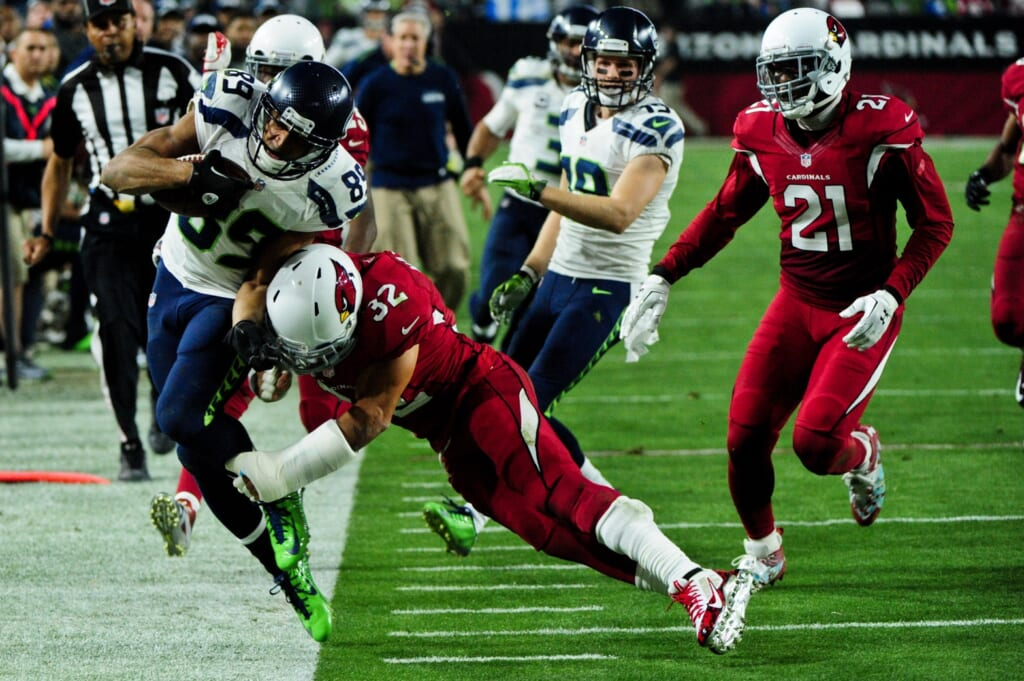 Courtesy of USA Today Sports: Most project the Cardinals and Seahawks to by vying for the division title.