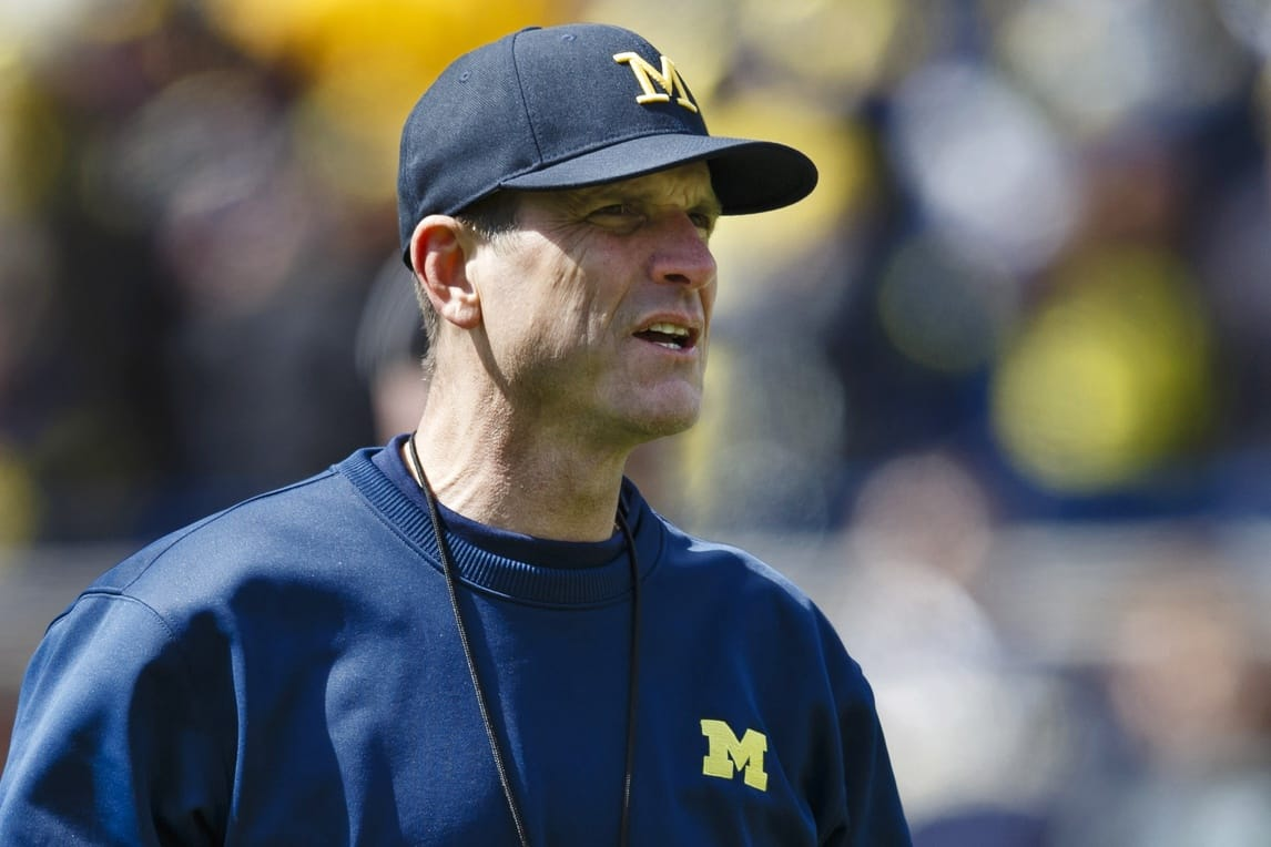 Jim Harbaugh hired former 49ers executive Tom Gamble, according to a report