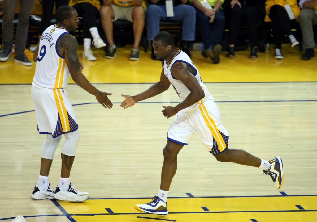 Courtesy of USA Today Sports: Barnes market and Iggy's long-term future could play role in decision to go after Durant.
