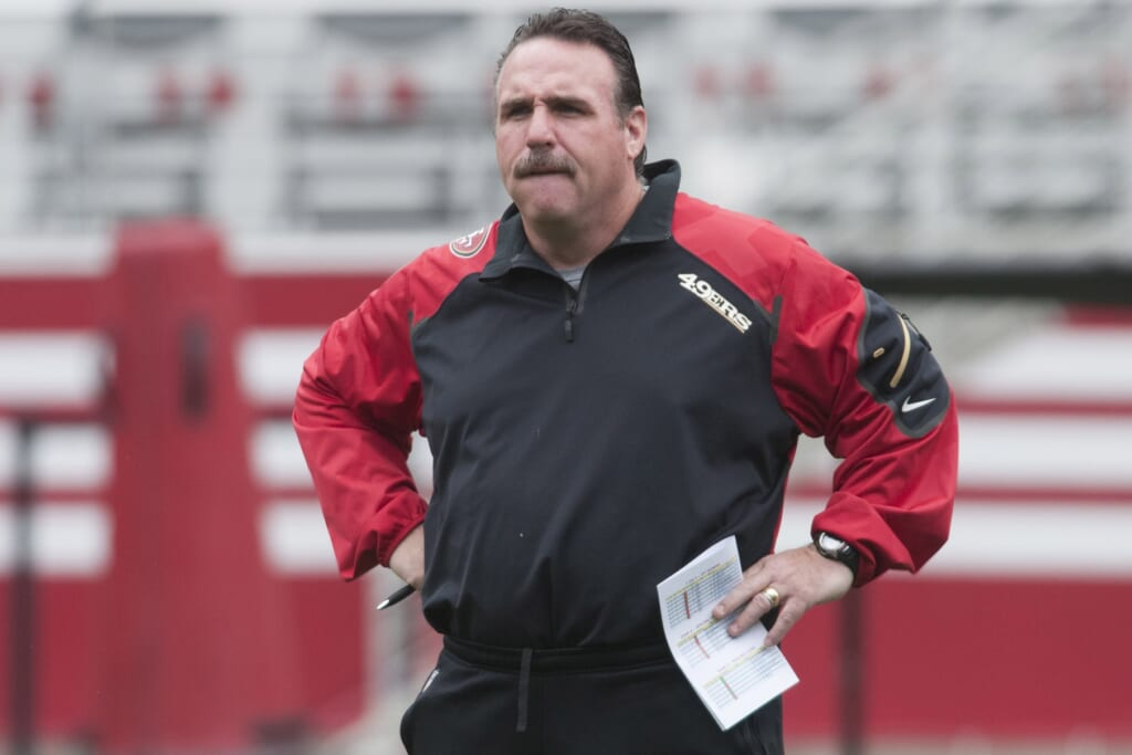 Courtesy of USA Today Sports: New head coach Jim Tomsula has a difficult task in San Francisco.