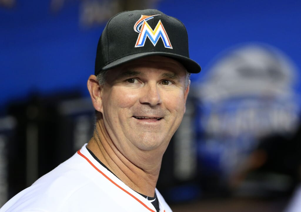 Courtesy of USA Today Sports: The Marlins GM is now also their manager. That's where they are right now.