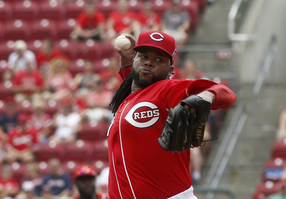 Courtesy of USA Today Sports: Cincinnati received a pretty big bounty for its staff ace.