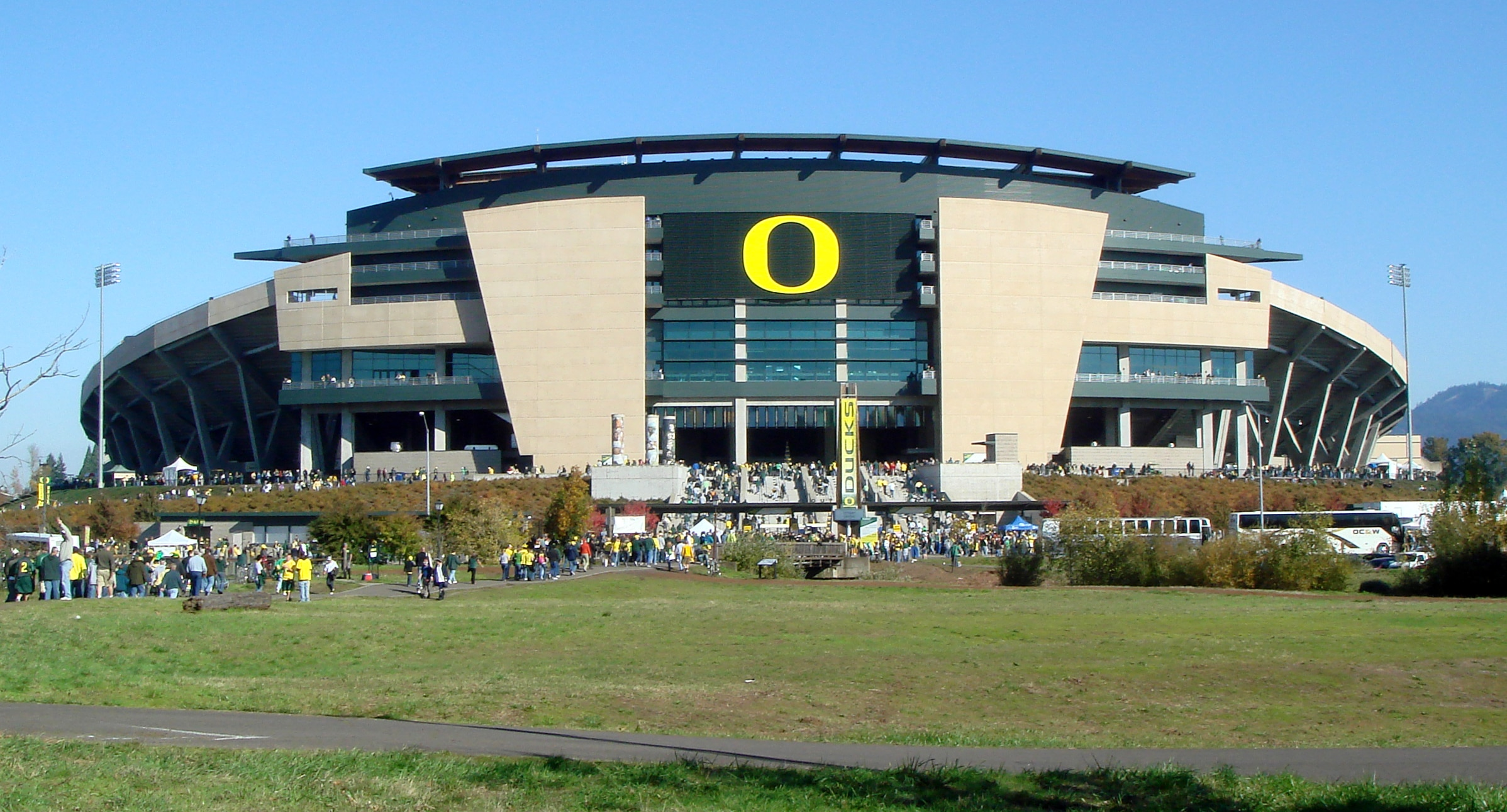 Oregon Football Autzen Stadium