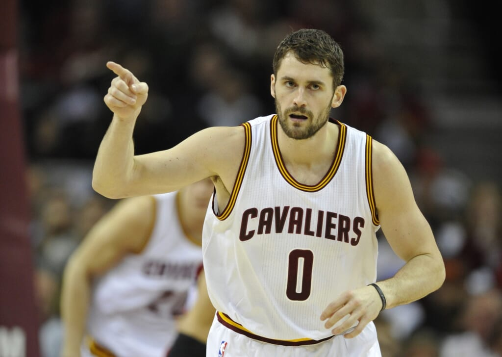 Kevin Love should be ready to help the Cavaliers in their third consecutive NBA Finals matchup against the Warriors.