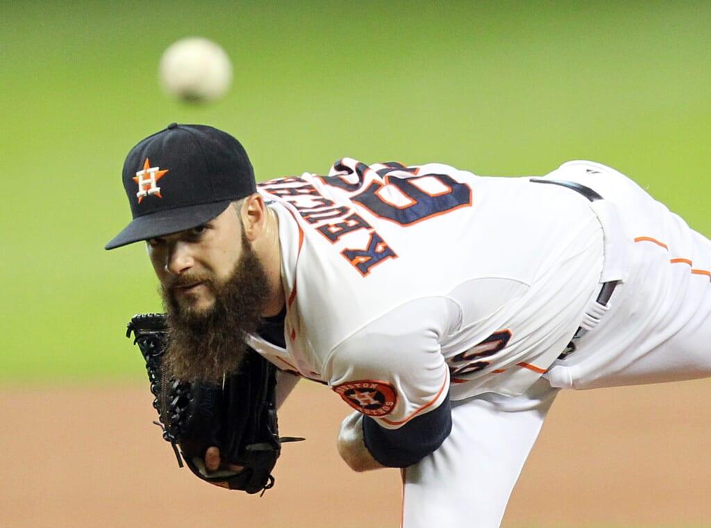 MLB Houston Astros Dallas Keuchel