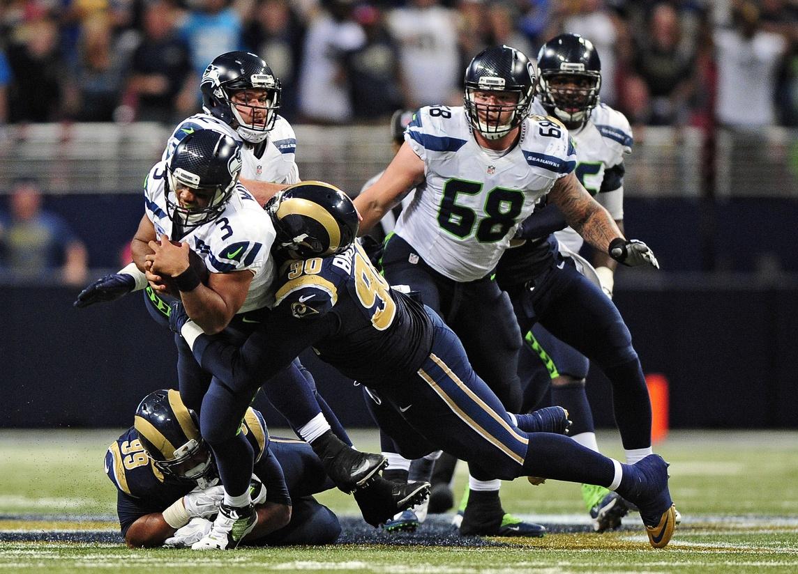 Rams DT Michael Brockers knocks Seahawks Russell Wilson