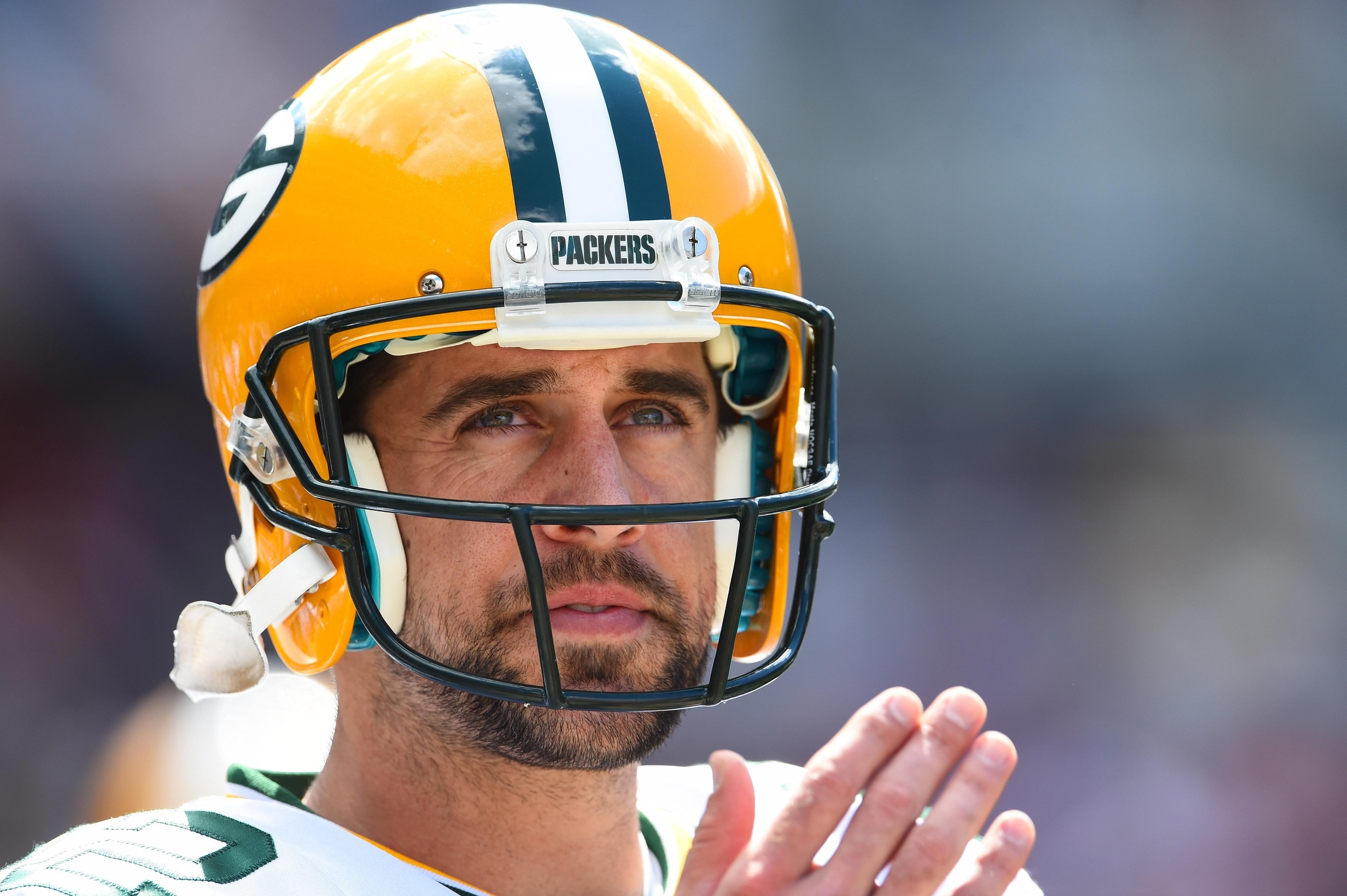 94b520a42e559 Aaron Rodgers shares an awesome video message to HS students ...