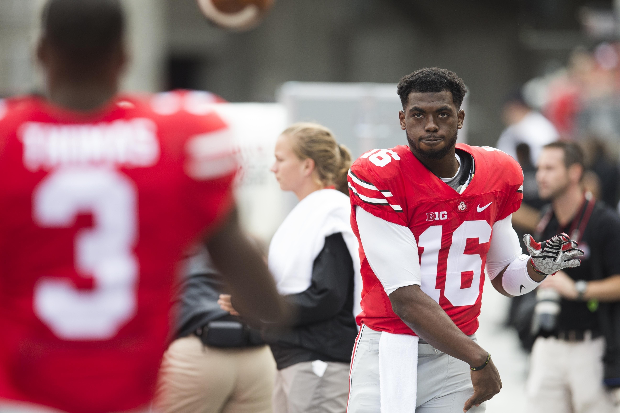J.T. Barrett is a college football star who faces immense pressure in 2017