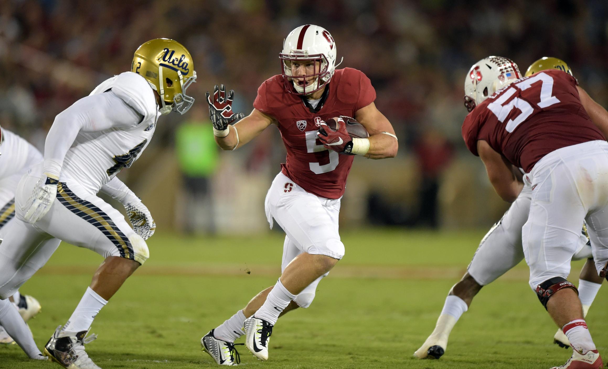 Christian McCaffrey Stanford