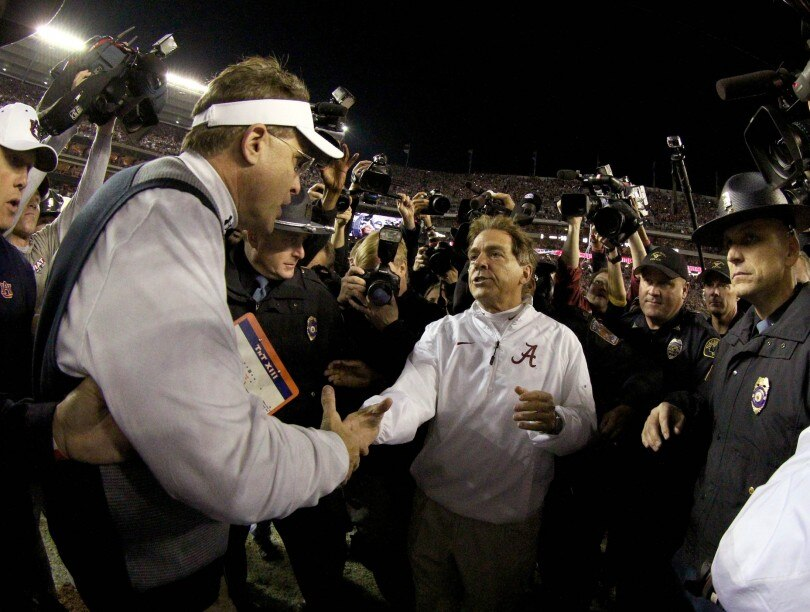 No. 1 Bama won't let down against No. 16 Auburn
