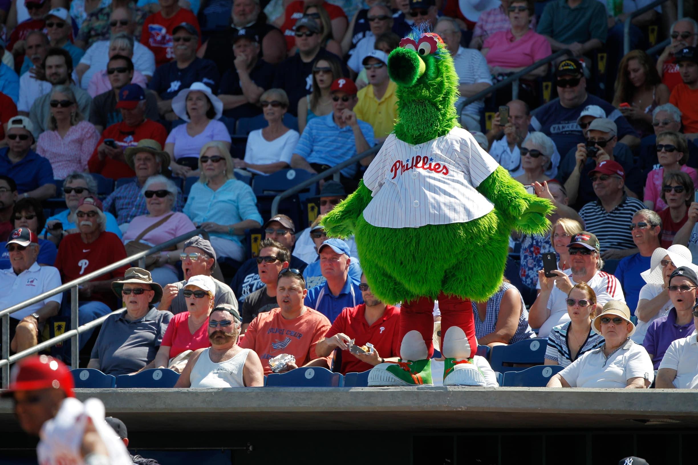 Phillies mascot