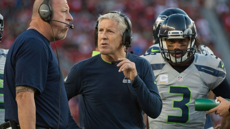 Pete Carroll is one of the NFL head coaches on the hot seat