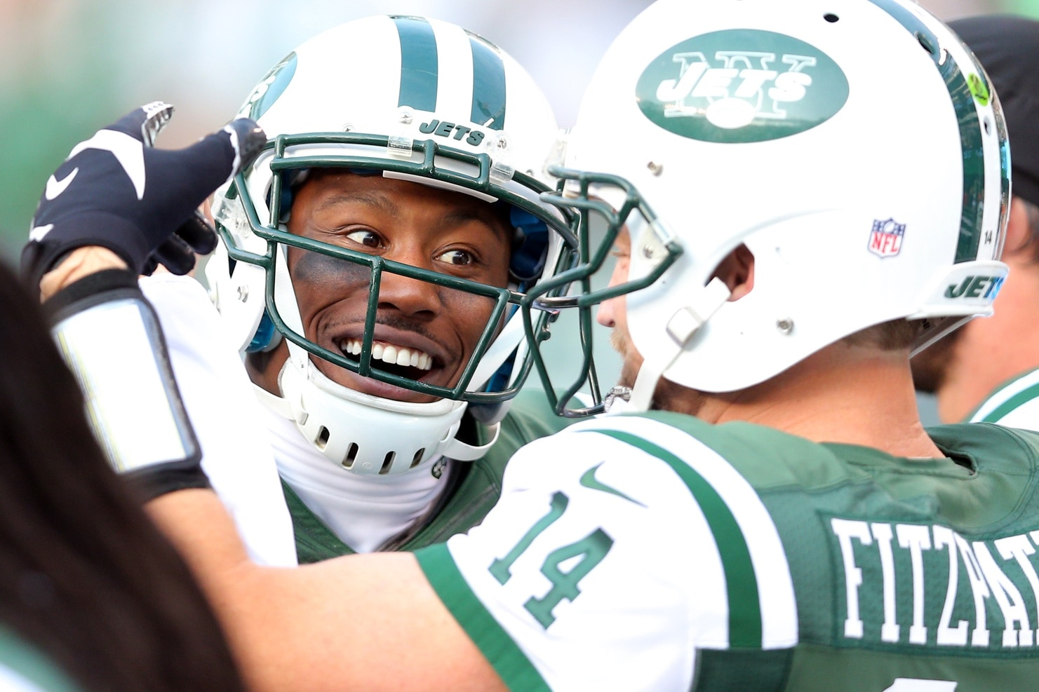 Brandon Marshall couldn't stop laughing after seeing Jay Cutler in his birthday suit