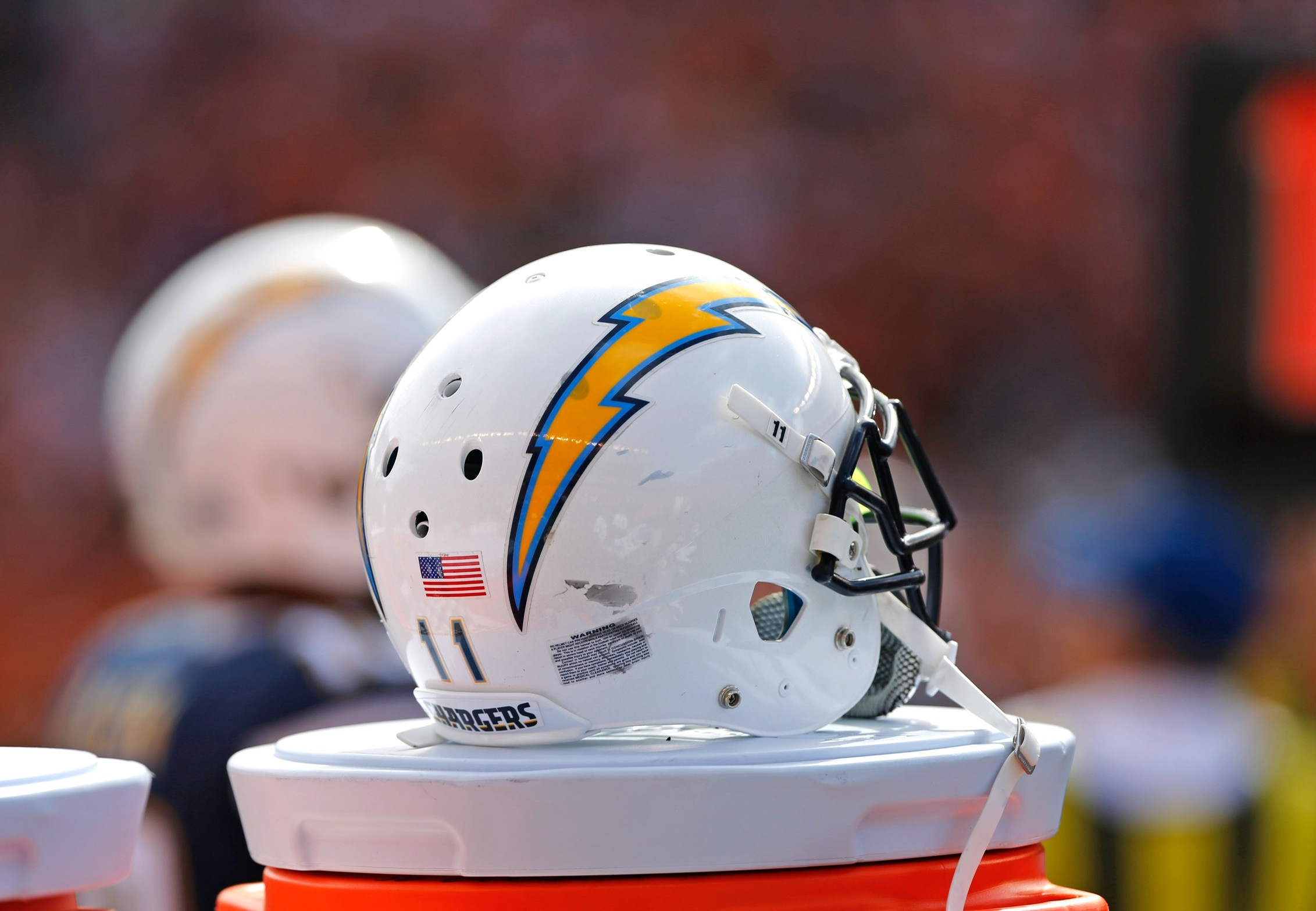 Chargers helmet StubHub Center
