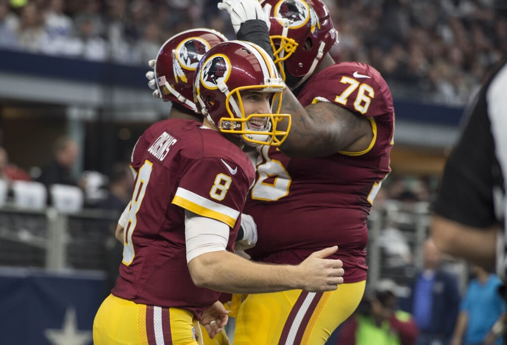 Kirk Cousins is one of many NFL Free Agents who could make a big splash in 2017